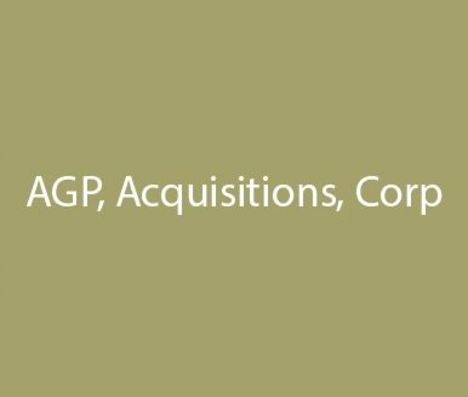 AGP, Acquisitions, Corp.