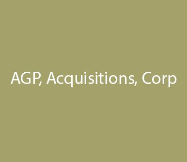 AGP Acquisitions Corp