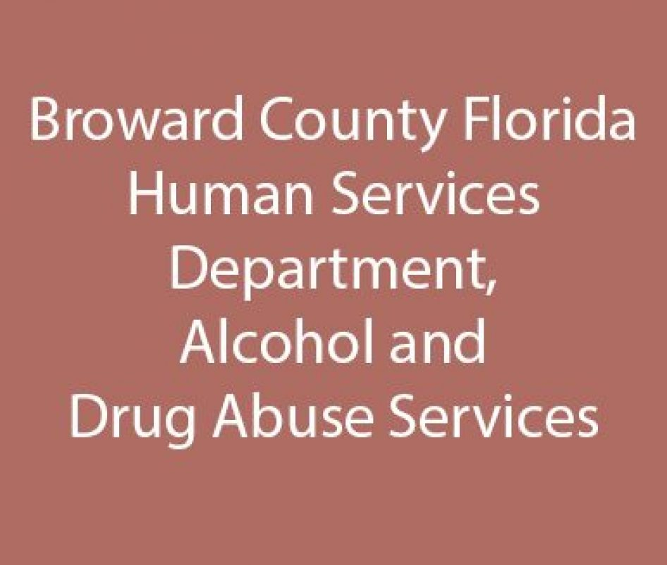 Broward County Florida Human Services Department, Alcohol and Drug Abuse Services